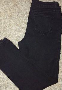 Plus size black jeans
